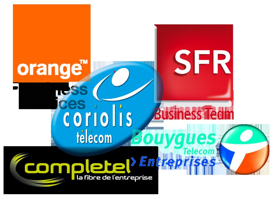 Logos Operateurs coriolis orange sfr bouygues completel numericable futur lti