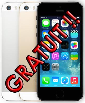 Iphone 5S Gratuit