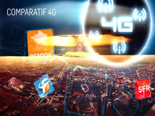 Guerre 4G Opérateurs