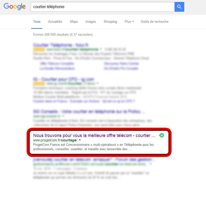 premier-google-courtier-telephonie-social